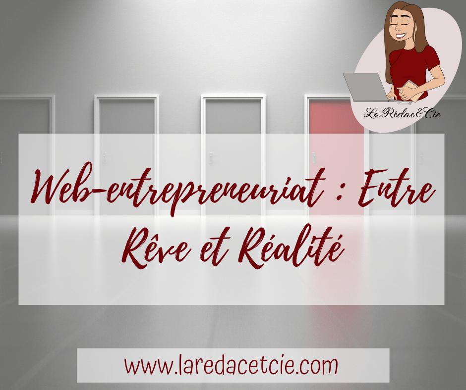 Web-entrepreneuriat : Entre Rêve et Réalité