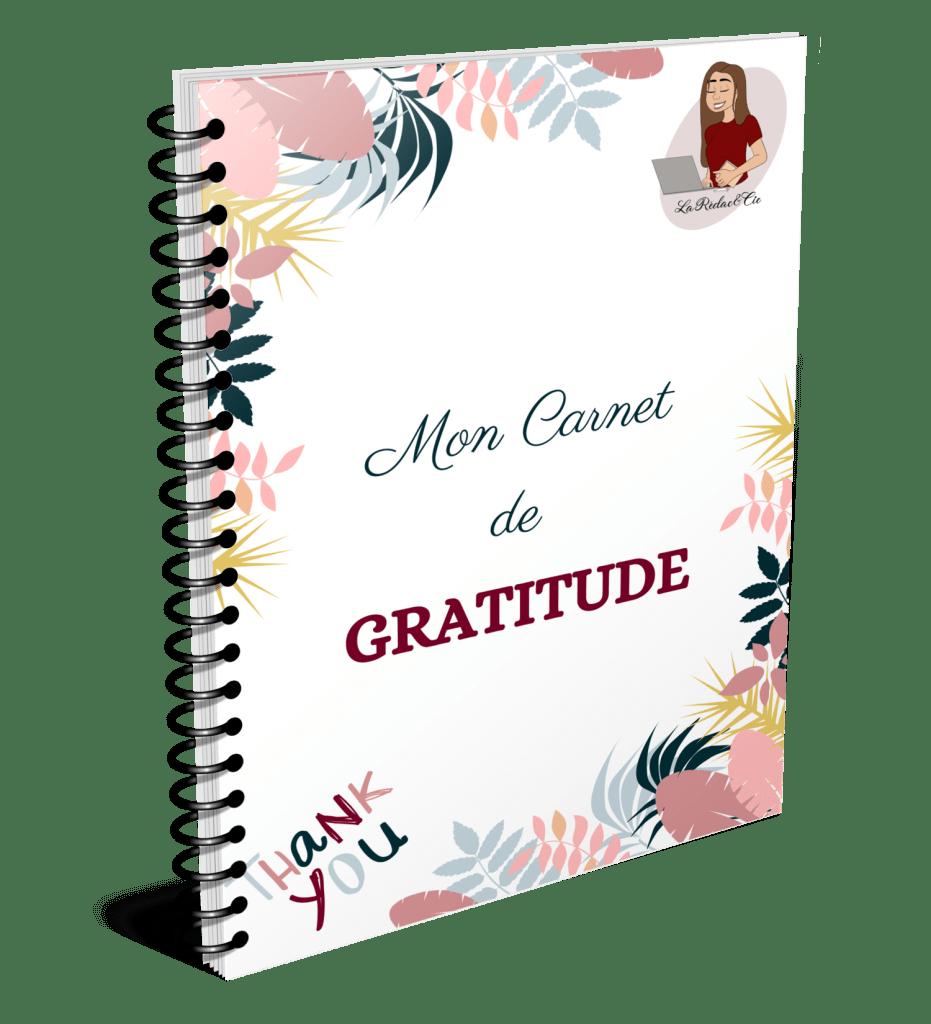 Ton Carnet de Gratitude offert